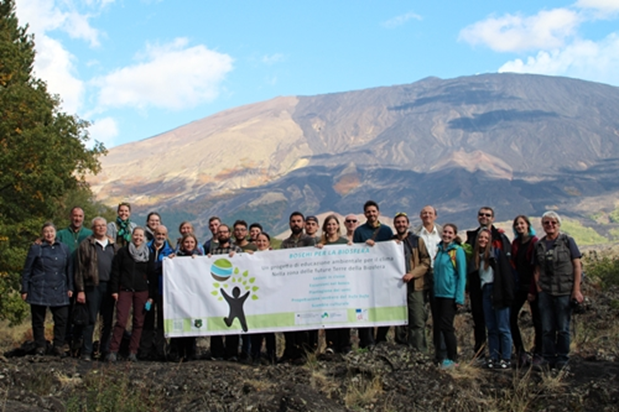 Climate Workshop Excursion with Volunteers and Experts; Photo: Andrea Aidala