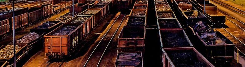 Füterbahnhof bei Nacht
