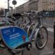 Leihfahrräder in Warschau