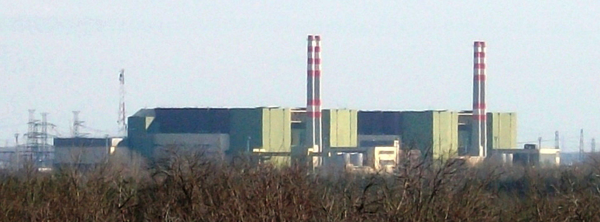 Nuclear power plant PAKS in Hungary