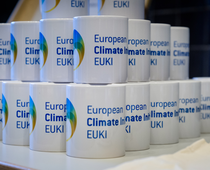 Mugs with EUKI logo