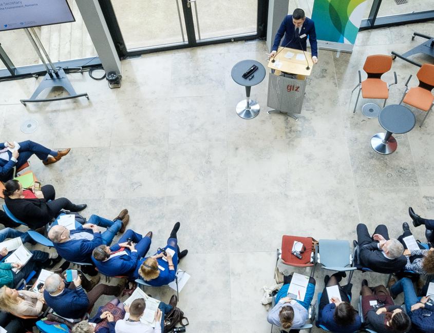 Konferenzraum von oben
