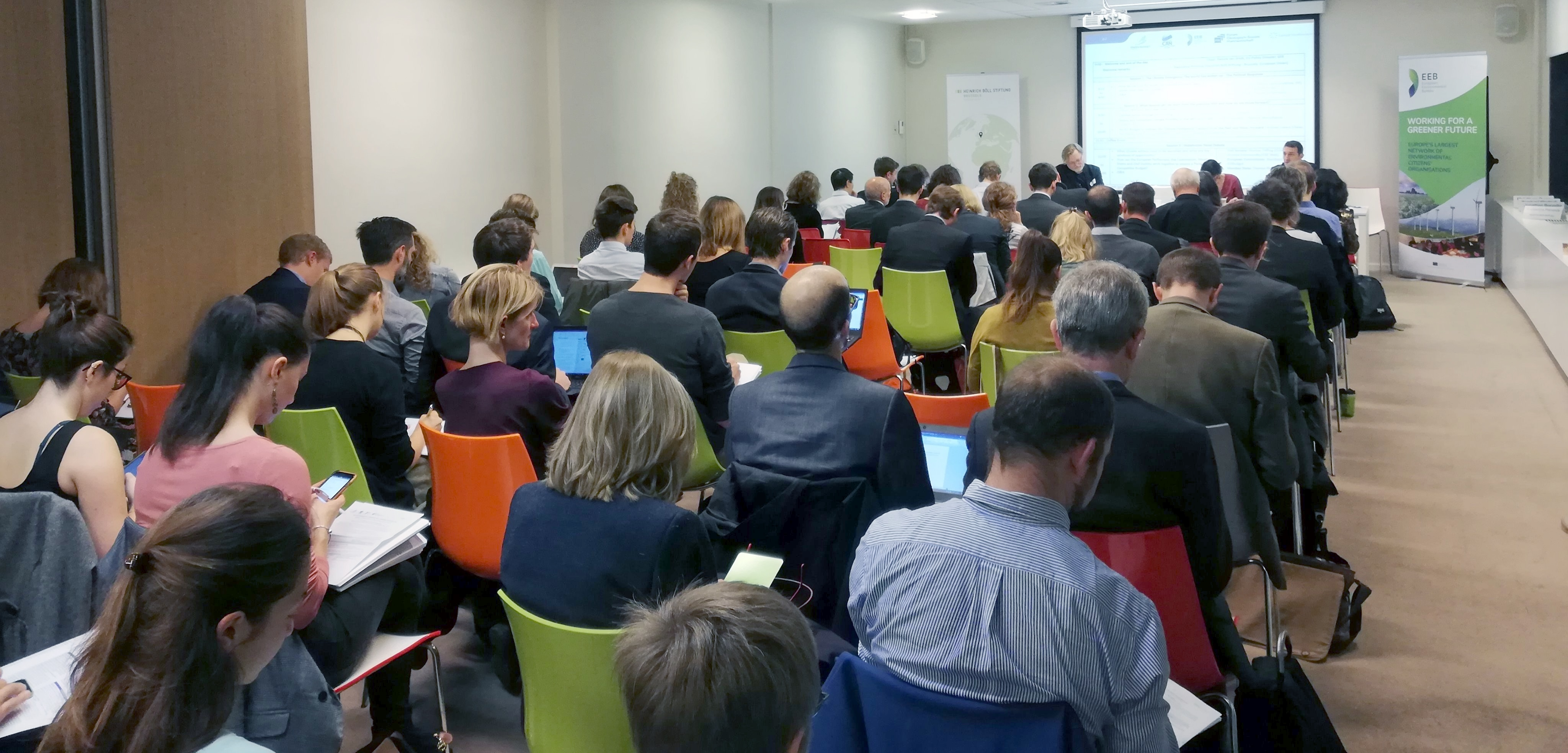 Full conference room in Brussels