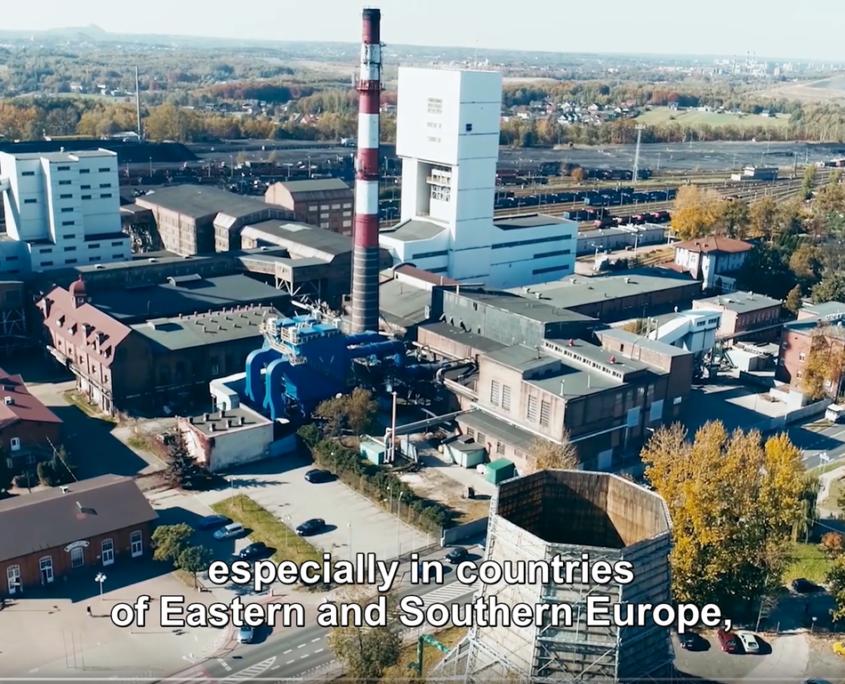 Anlage zur Kohleproduktion