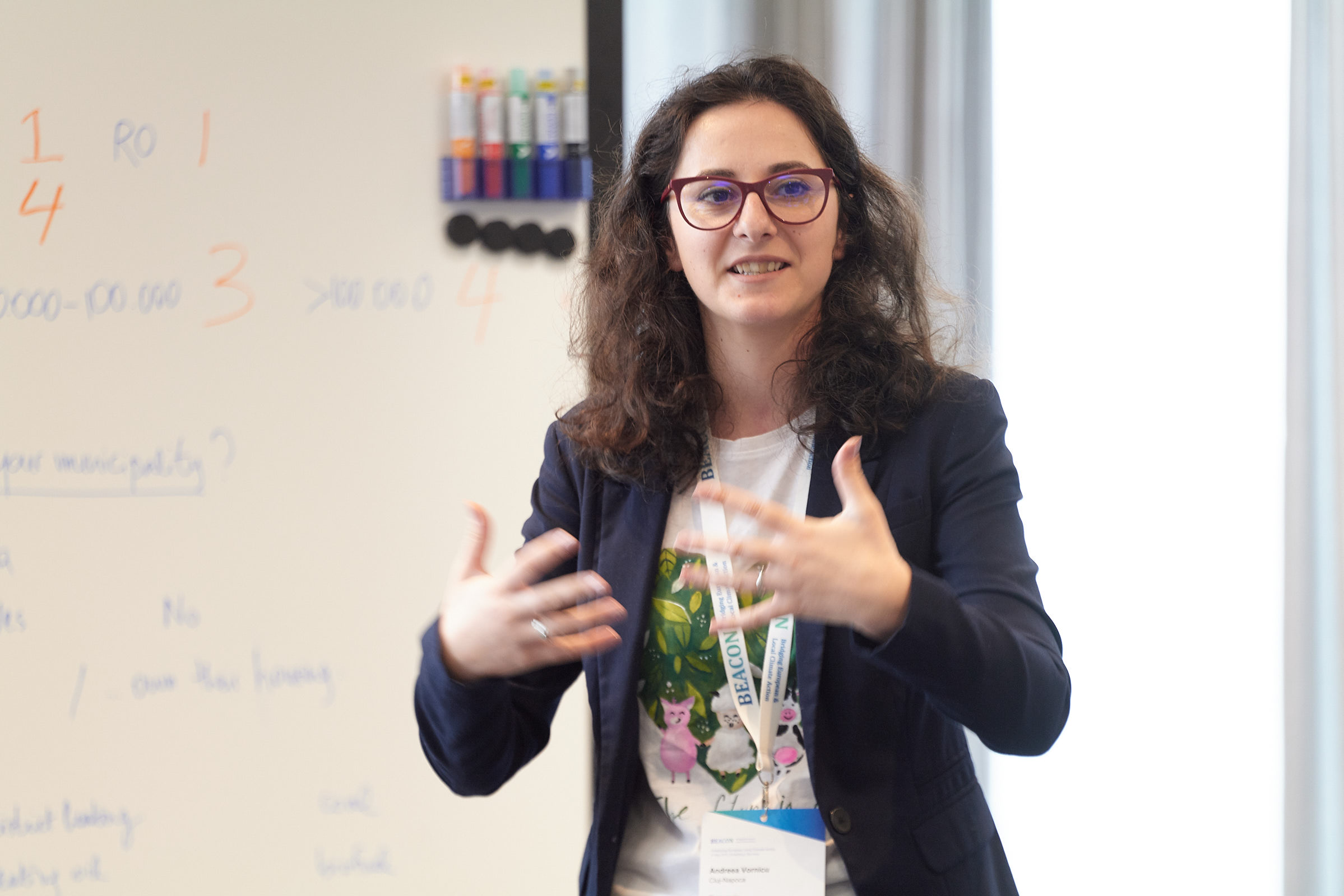 Andreea Vornicu speaking