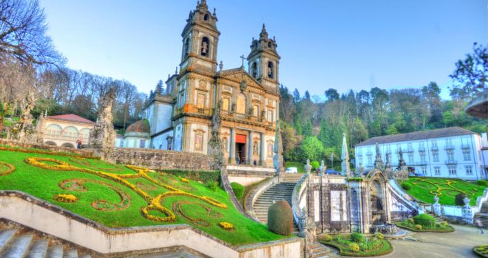 Santuáurio do Bom Jesus do Monte in Braga, Portugal