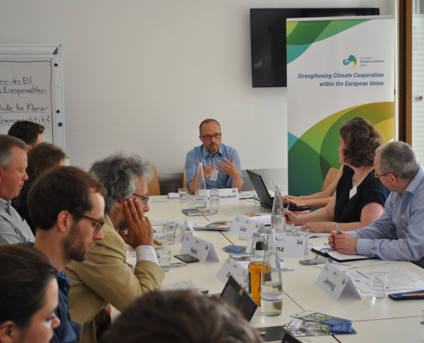 Nils Meyer-Ohlendorf of Ecologic at the conference table