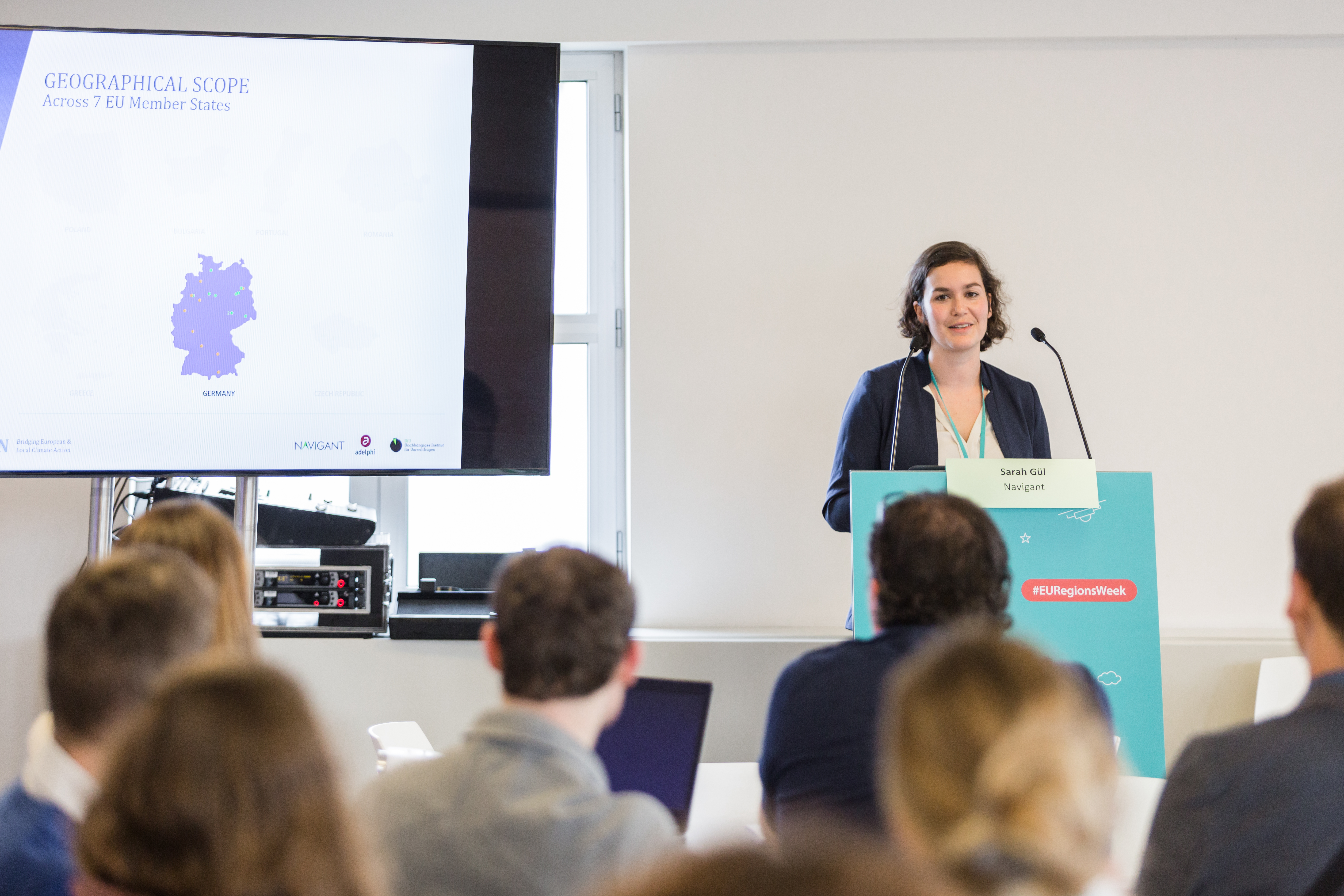 Sarah Gül auf BEACON-Konferenz