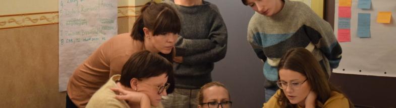 Design workshop on nature-based solution in Warsaw's Wawer district