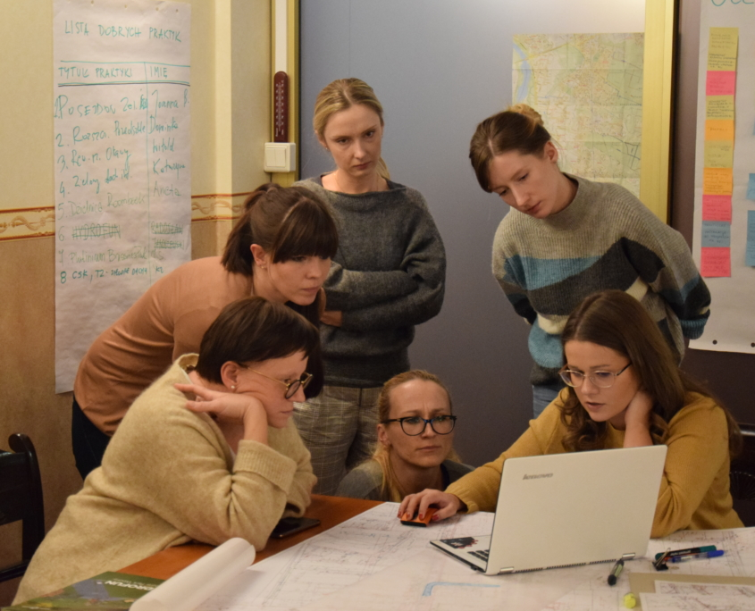 Design workshop on nature-based solution in Warsaw's Wawer district