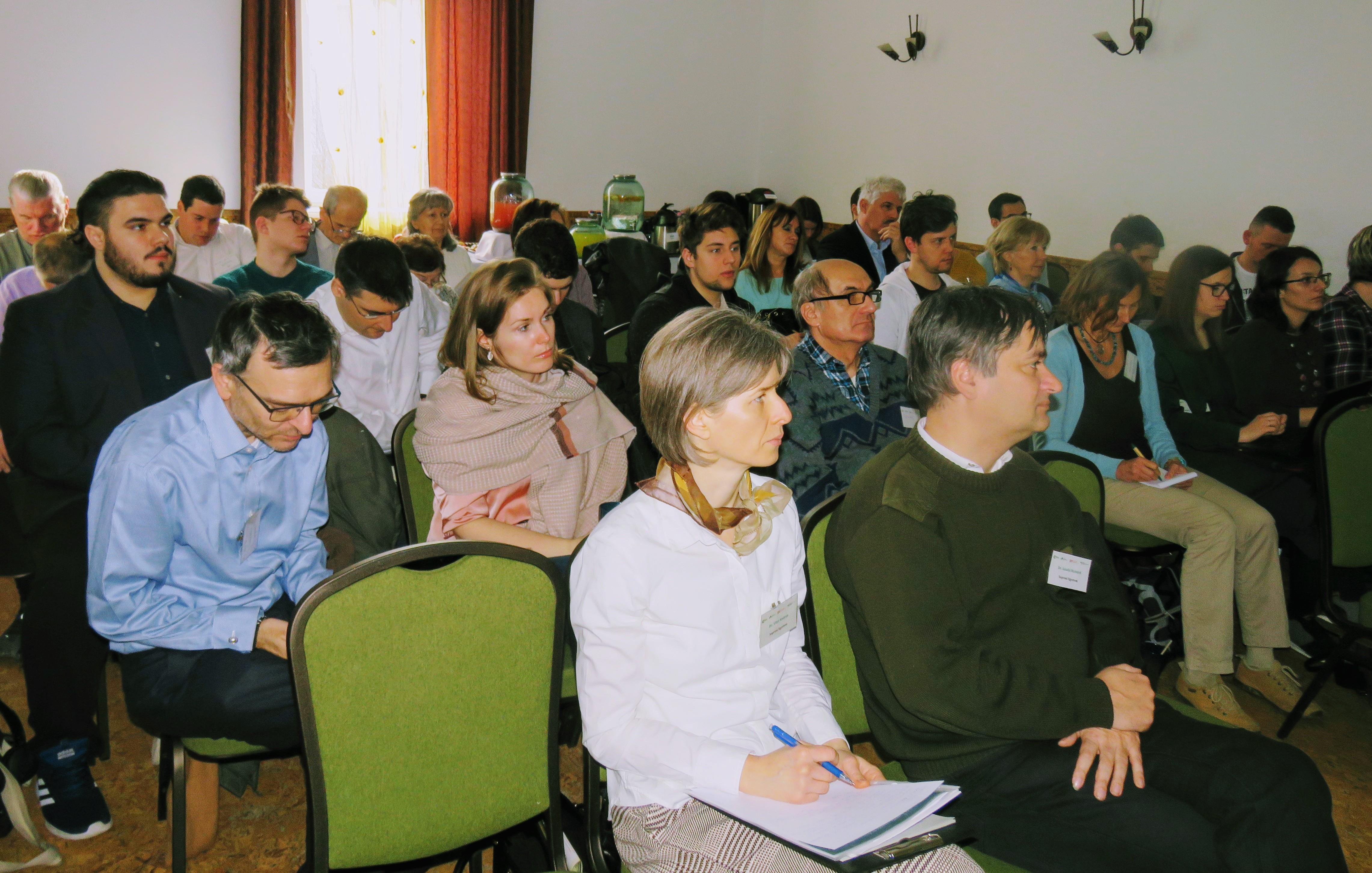 Vortrag auf der Konferenz