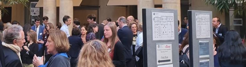 Teilnehmer auf Konferenz