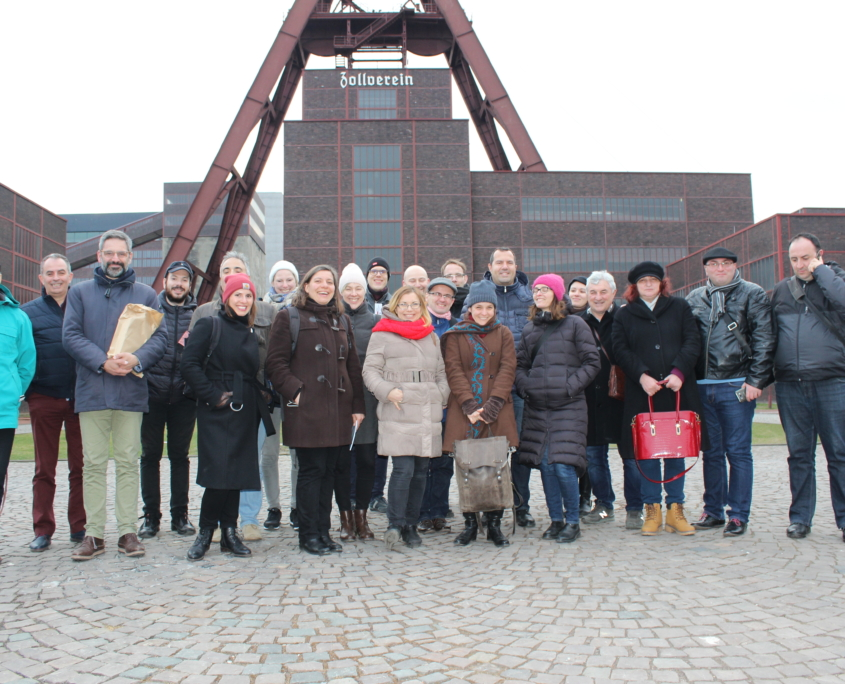 Study Trip Zeche Zollverein