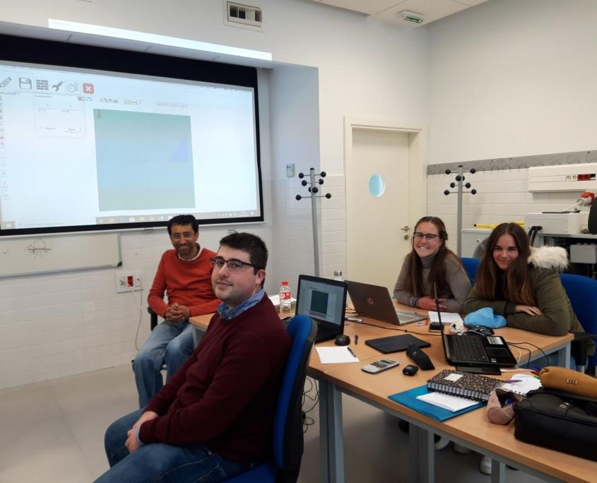 Projekt work in Spain