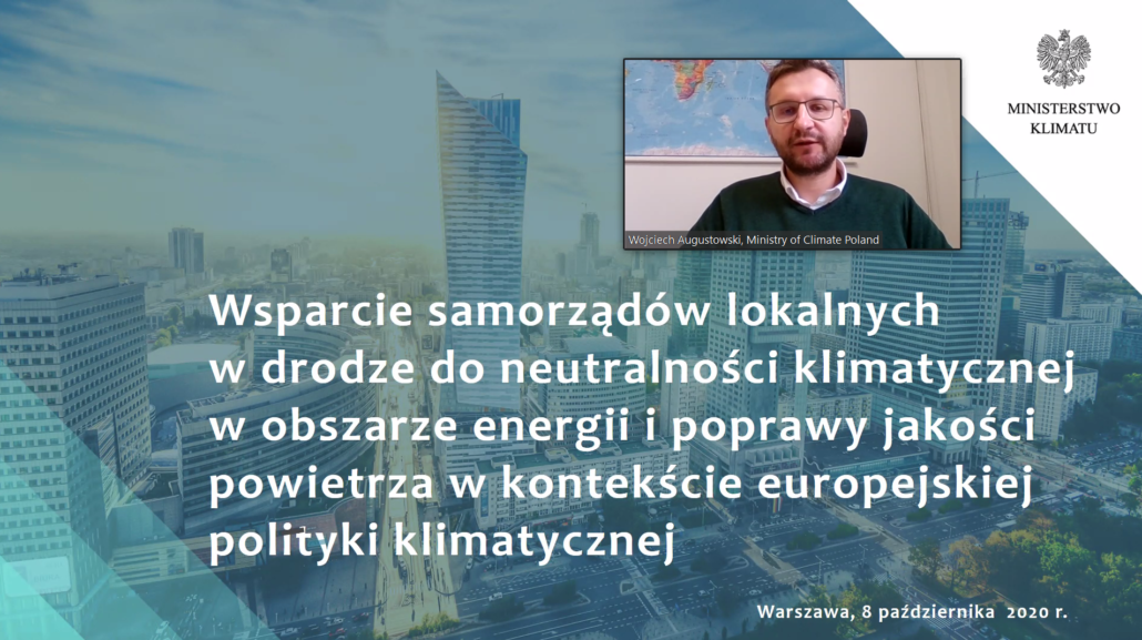 Wojciech Augustowski, Polish Ministry of Climate at BEACON Vertical Workshop