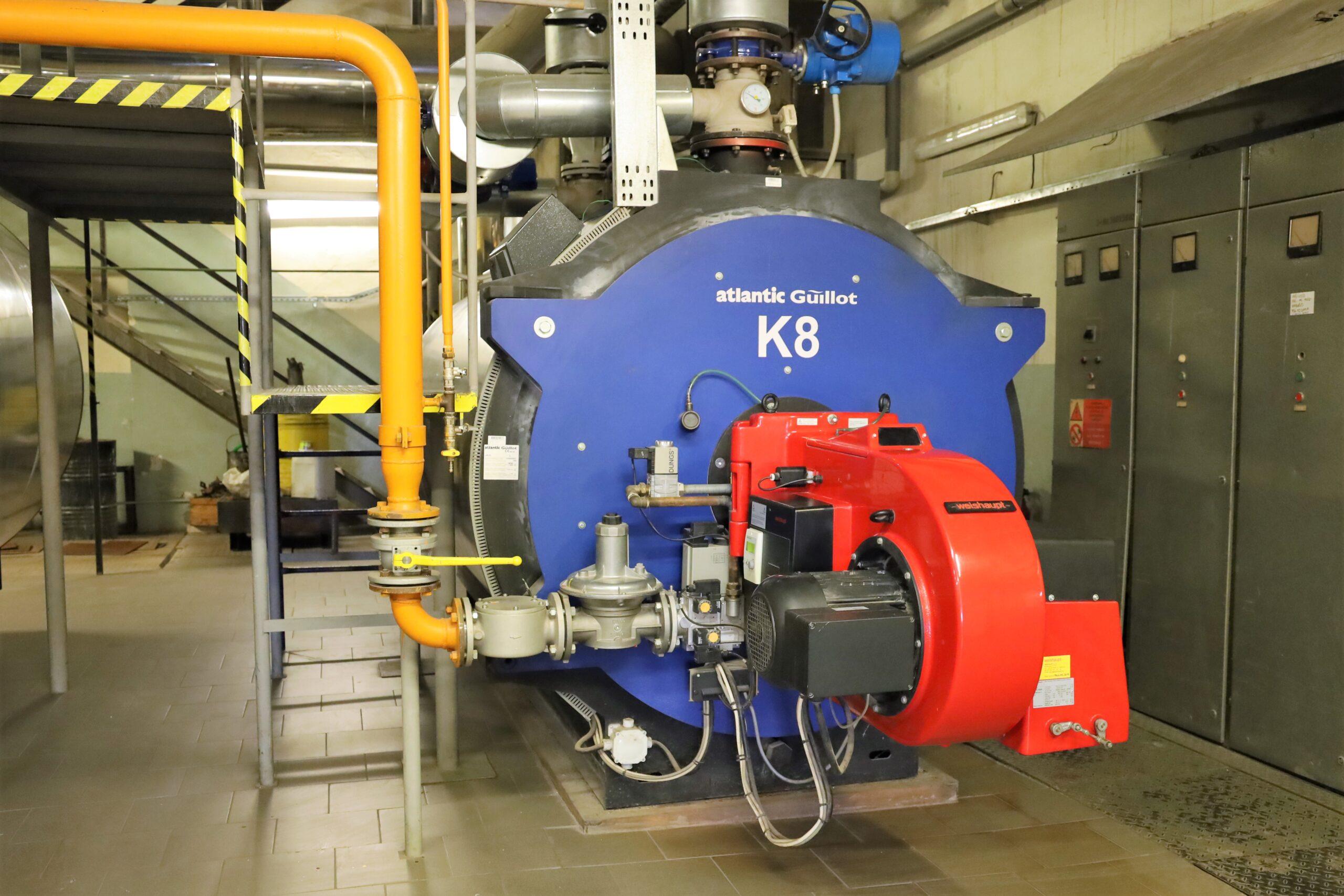 Energie-effizienter Generator im Krankenhaus von Břeclav