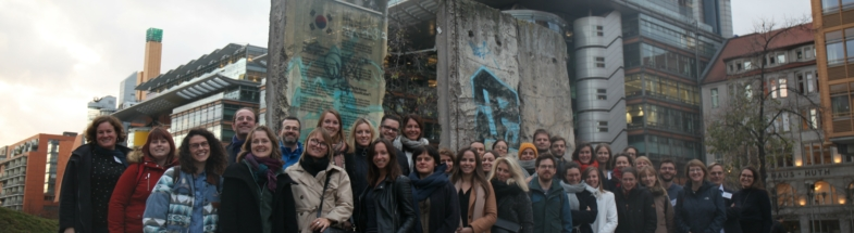 Die JournalistInnen des Stipendium treffen sich zur Konferenz in Berlin.