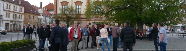 Public lighting workshop in Sušice, Czech Republik