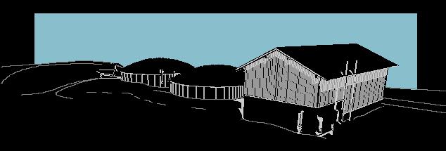 Biogas Farm Zeichnung
