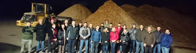 Holz-Biomasse für den Klimaschutz in der Region Zlatibor, Serbien.