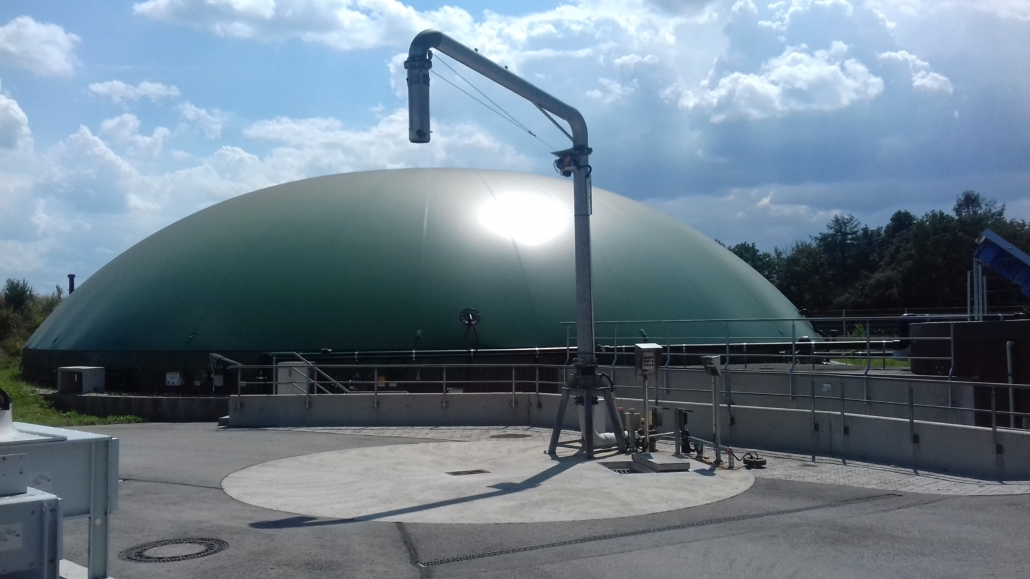 Gülle-Biogasanlage