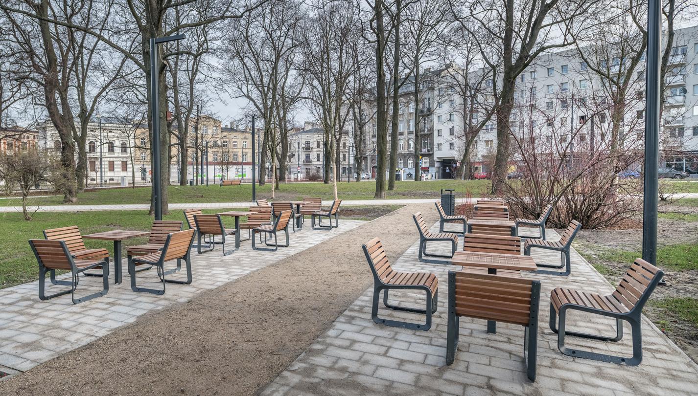 Modernisation in Moniuszki Park.