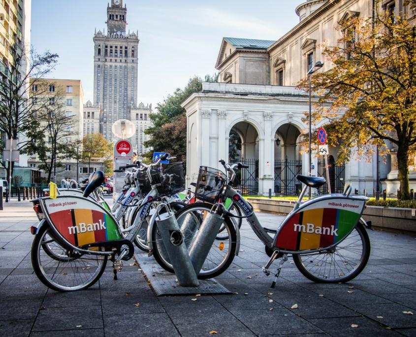 Bike rental in Warsaw
