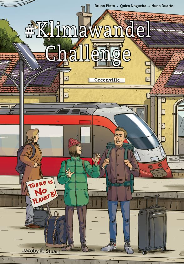 BEACON Comic #KlimawandelChallenge Cover