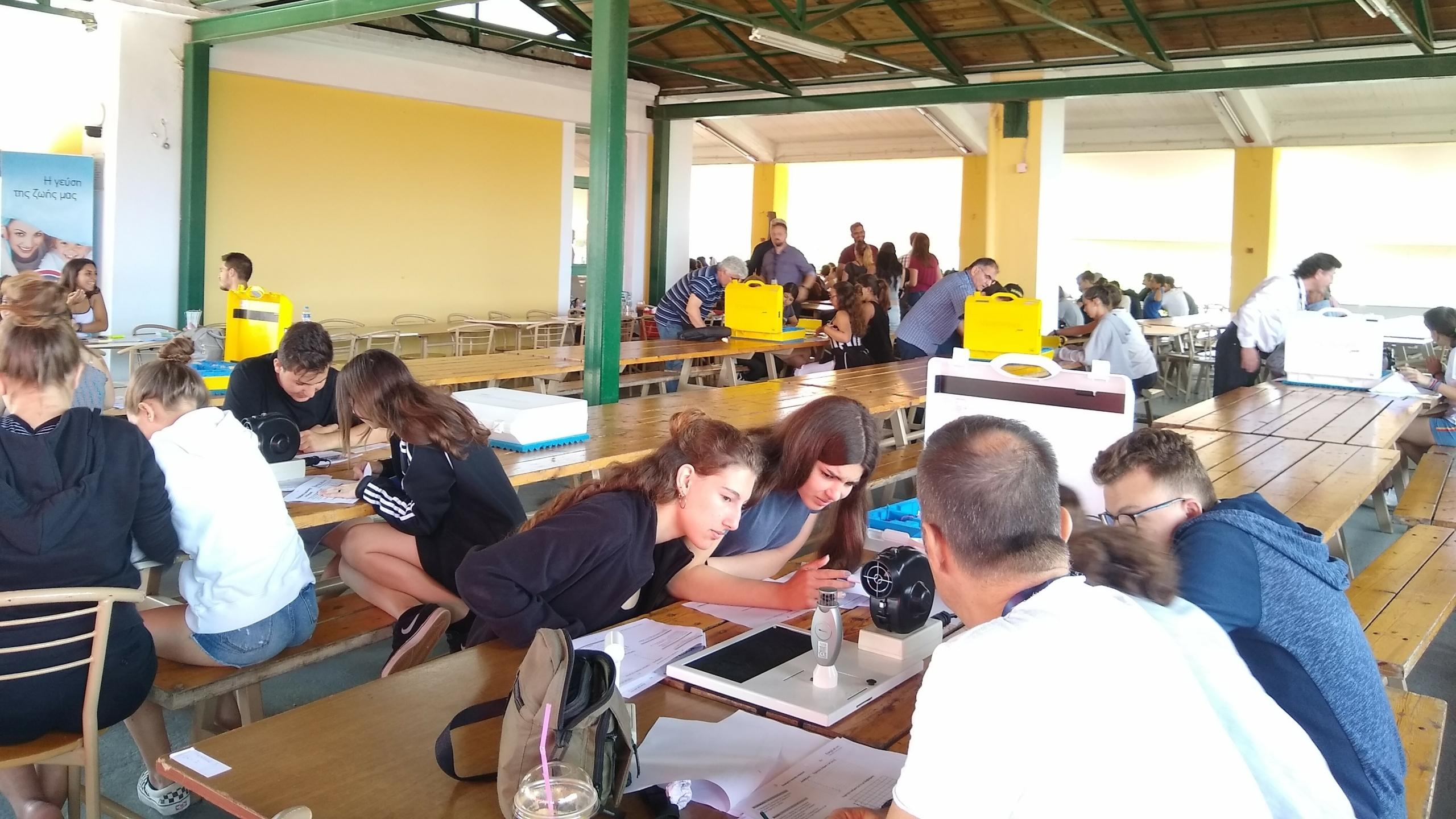Active participants in a GreenTec Workshop.