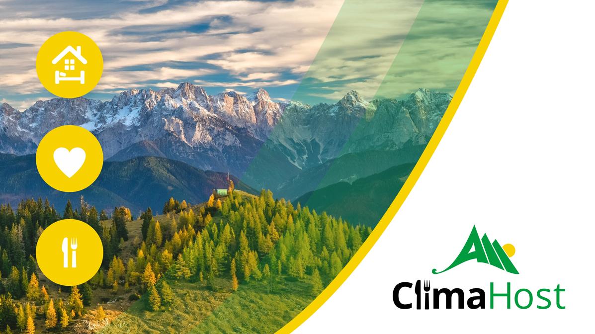 Logo des EUKI Projekts Clima Host.