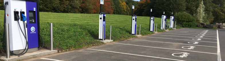 Chargers for electric cars