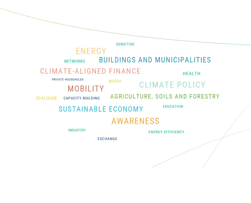 Word Cloud Climate Action