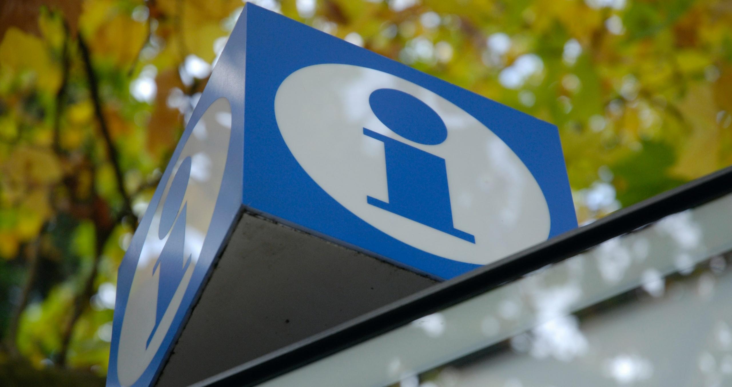 Information sign Switzerland