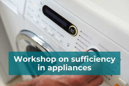 Introducing CACTUS workshop about efficiency in appliances