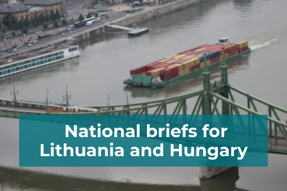 CACTUS National briefs on energy sufficiency for Lithuania and Hungary
