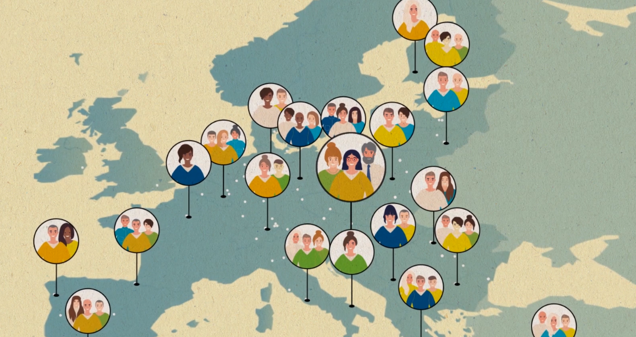 Selection Procedure Map of Europe